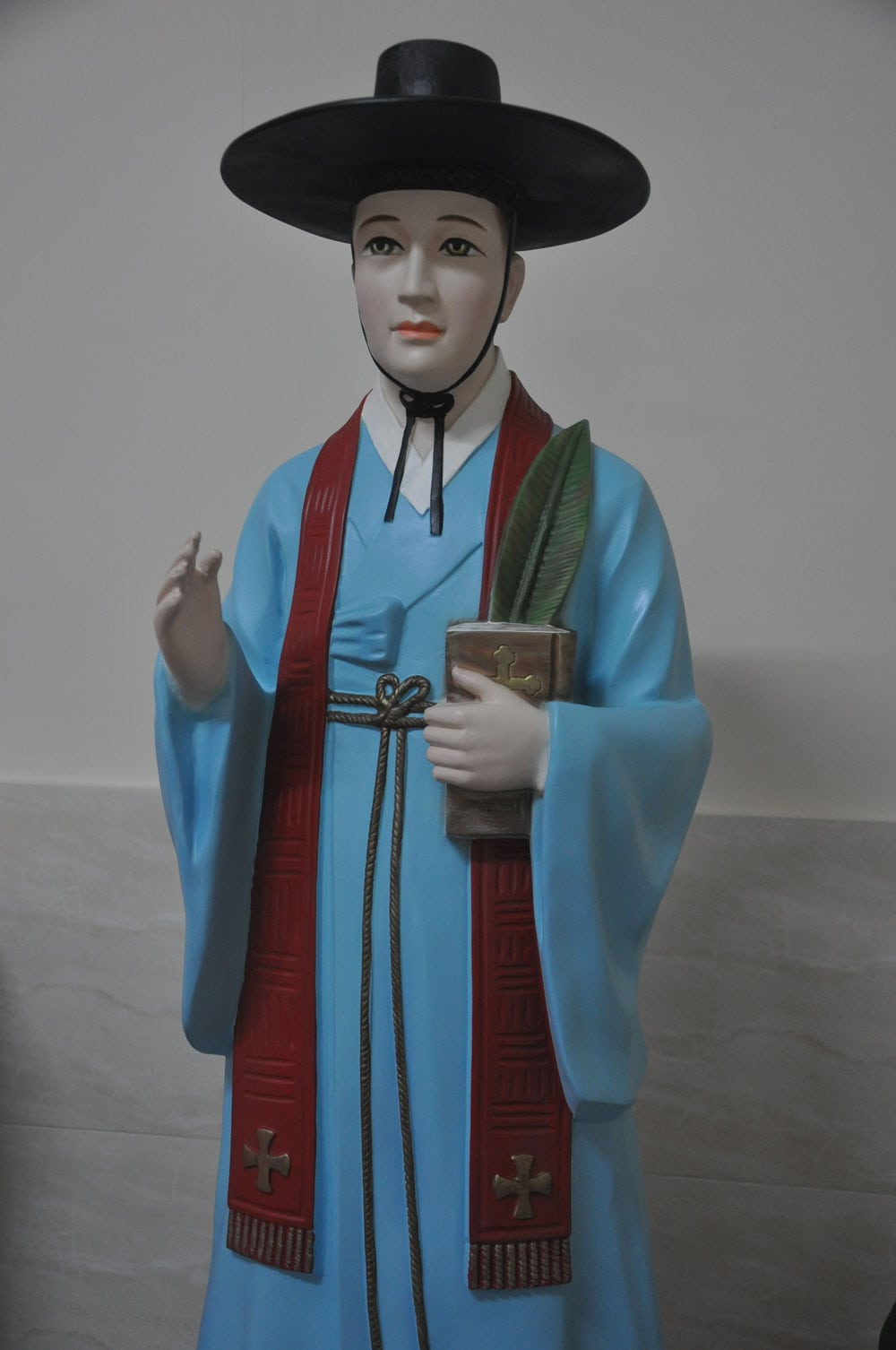 Chapel of St. Francis Xavier Korean idol in side chamber