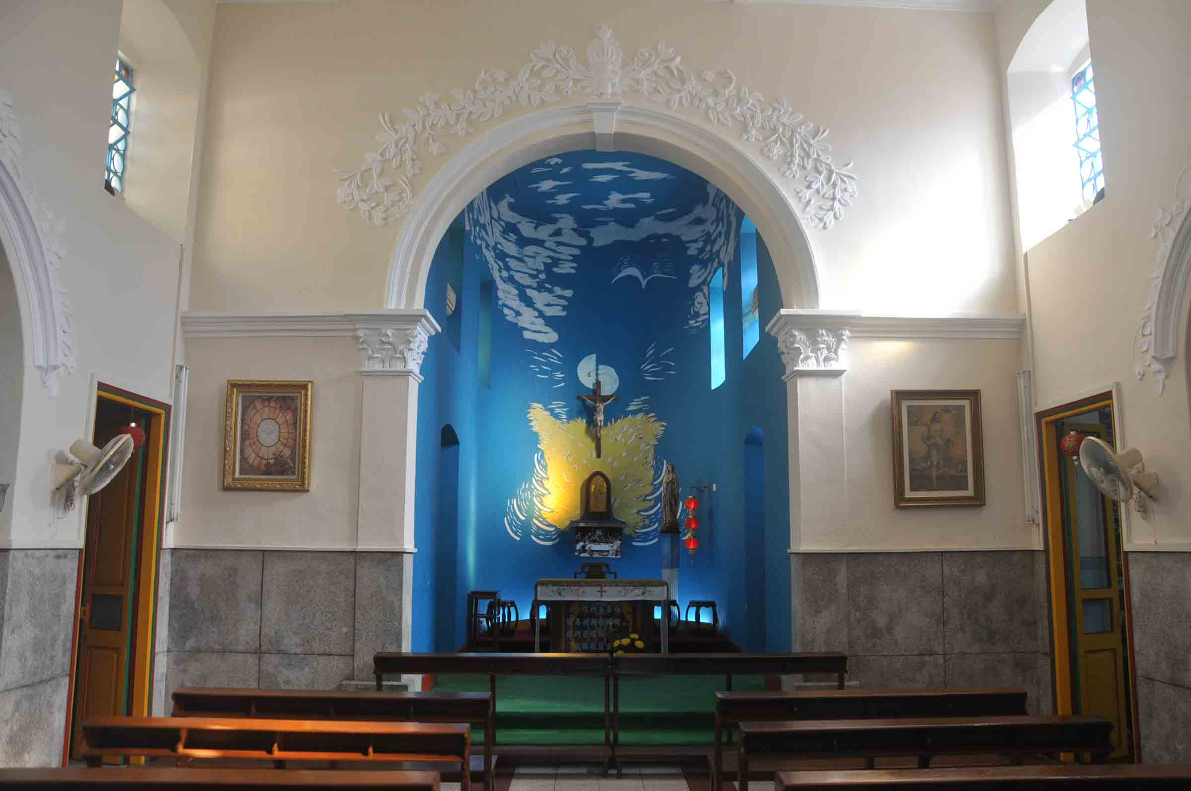 Chapel of St. Francis Xavier interior